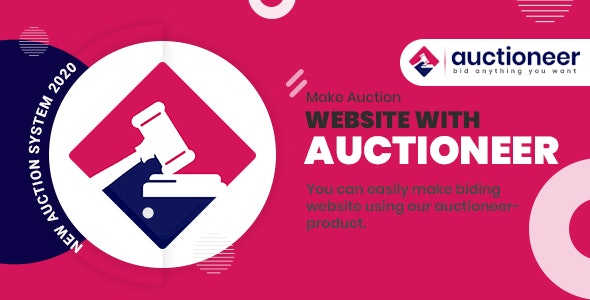 Auctioneer - Full Auction management - CodeCanyon Item for Sale