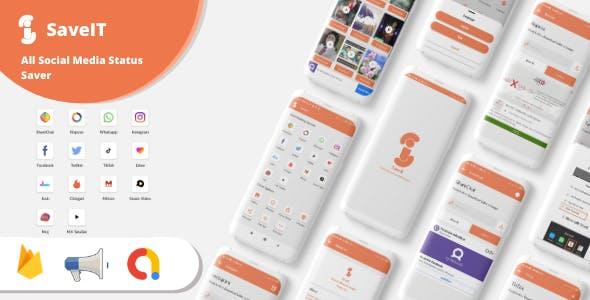 SaveIt - Fb, Insta, Whatsapp Story Saver, Josh, Mitron, Moj, MxTakaTak and more Video Saver App