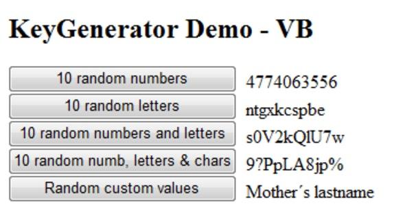 Key Generator - CodeCanyon Item for Sale