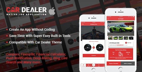 Car Dealer Native iOS Application - Swift