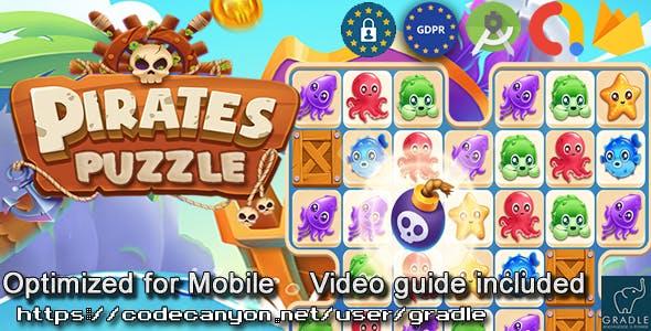Puzzle Pirate (Admob + GDPR + Android Studio)