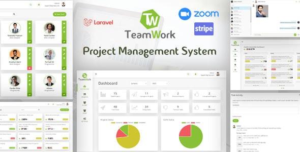 TeamWork Laravel - Project Management System - CodeCanyon Item for Sale