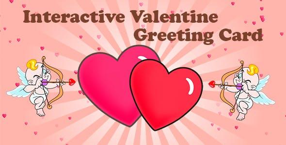 Interactive Valentine Greeting Card