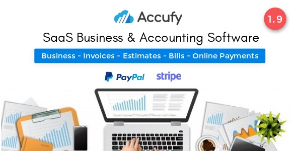 Accufy - SaaS Business & Accounting Software - CodeCanyon Item for Sale
