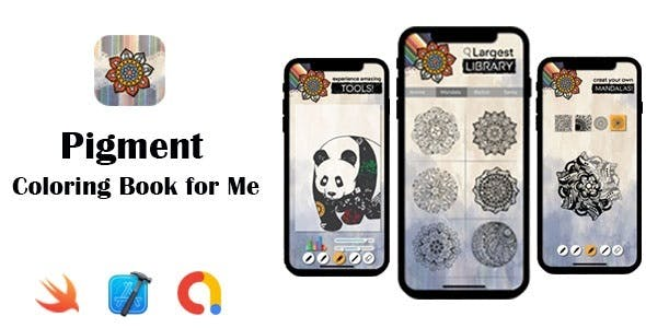 Pigment – Coloring Book for Me | Google AdMob | iOS Source Code