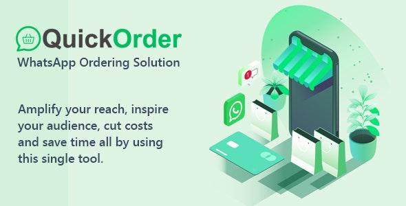 QuickOrder - WhatsApp Ordering Addon - CodeCanyon Item for Sale