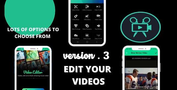 Android Video Editor Pro Version 2 i.e (Movavi,filmora)