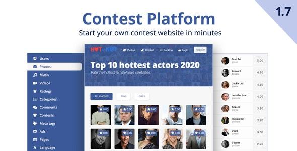Contest Platform - CodeCanyon Item for Sale