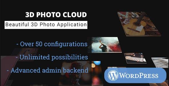 3D Photo Cloud - WordPress Media Plugin