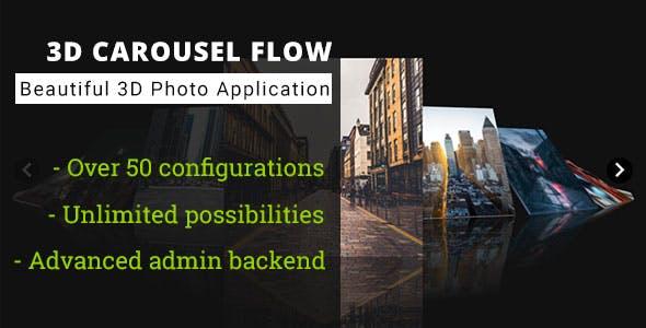 3D Carousel Flow - Advanced Media Gallery