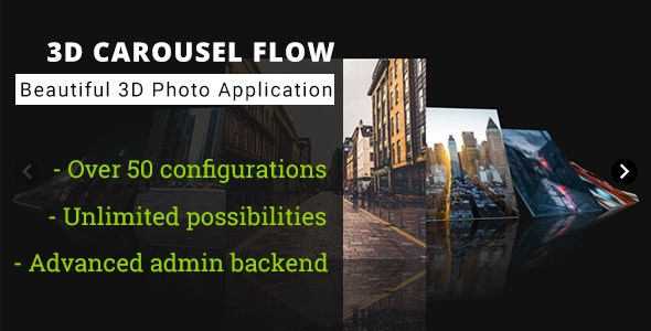 3D Carousel Flow - Advanced Media Gallery - CodeCanyon Item for Sale