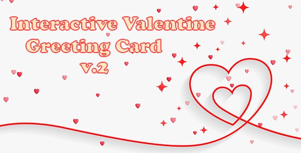 Interactive Valentine Greeting Card v.2 - CodeCanyon Item for Sale