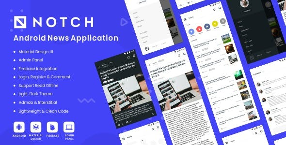 Notch - Android News Application 2.0
