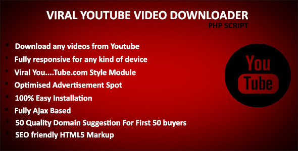 Moko Viral YouTube Downloader - Best Viral YouTube Video Downloader Script - CodeCanyon Item for Sale