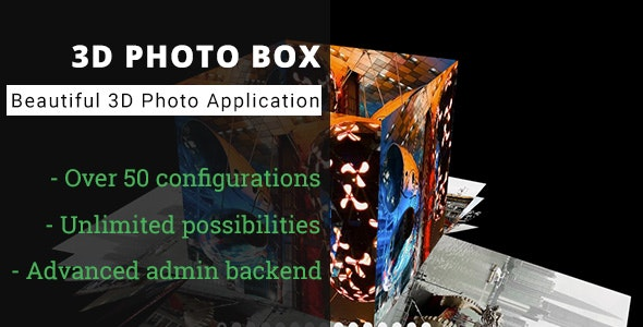 3D Photo Box - Advanced Media Gallery - CodeCanyon Item for Sale