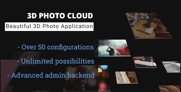3D Photo Cloud - Advanced Image Gallery - CodeCanyon Item for Sale