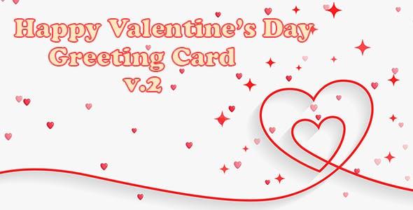 Valentine Greeting Card v.2