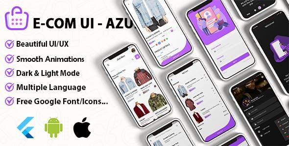 Azul - WooCommerce & Shopify Theme Ui Kit