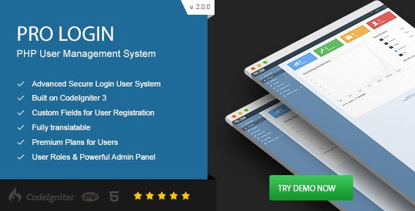Pro Login - Advanced Secure PHP User Management System