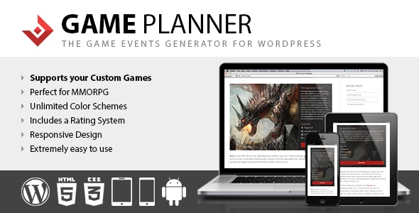 Game Planner - CodeCanyon Item for Sale