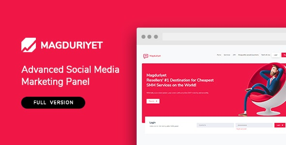 Magduriyet - Advanced SMM Panel Script - CodeCanyon Item for Sale