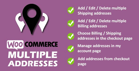 WooCommerce Multiple Addresses