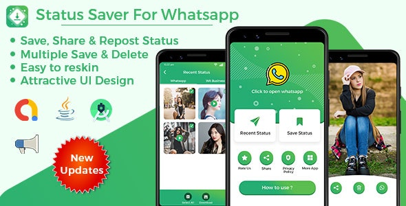 Status Saver For Whatsapp Whatsapp Business By Kessi Infotech Codecanyon