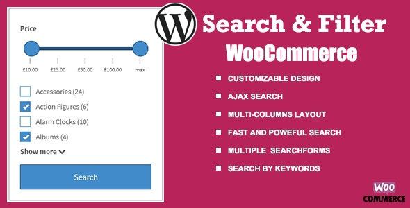 WooCommerce Search & Filter plugin for WordPress - CodeCanyon Item for Sale