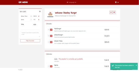 QR Menu - QR Menu Maker for Multi/Single Restaurant & Contactless ordering  & For Mobile and Web