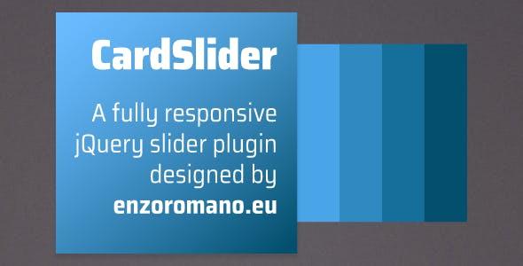 CardSlider - jQuery Plugin