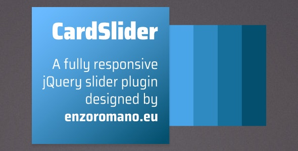 CardSlider - jQuery Plugin - CodeCanyon Item for Sale