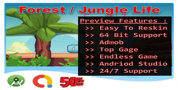 Jungle Forest Life (Compete game+admob+android)