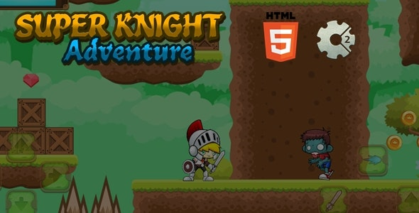 Super Knight Adventure - Html5 Game - CodeCanyon Item for Sale
