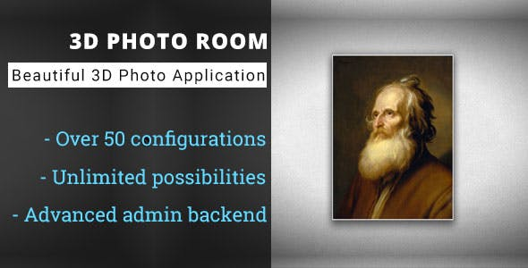 3D Photo Room - Advanced Media Gallery