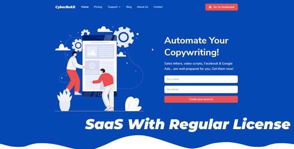CyberBukit Automatic Writing v1.1.3 – SaaS Ready – nulled