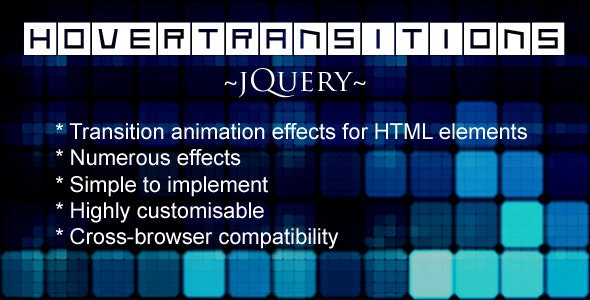 HoverTransitions - jQuery - CodeCanyon Item for Sale