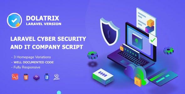 Dolatrix - Laravel Cyber Security Agency & IT Services Company CMS Website