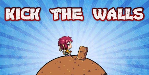 Kick the Walls - HTML5 Mobile Game