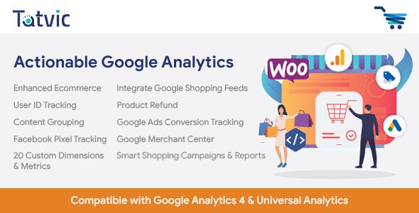 Actionable Google Analytics for WooCommerce