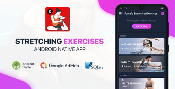 Female Stretching Exercises - Full Android Application - CodeCanyon Item for Sale