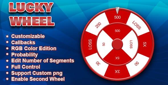 Lucky Wheel - ( HTML5 Game | Easy Customization )