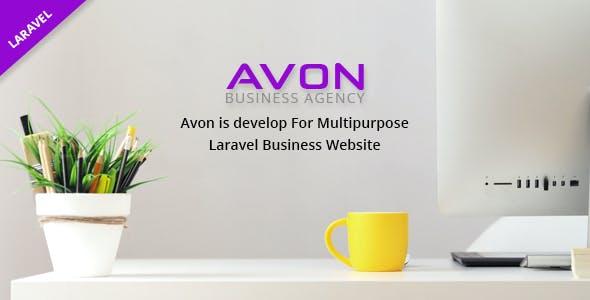 Avon - Multipurpose Business Website Laravel Script
