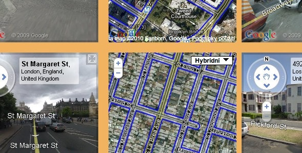 Maps & StreetView Presenter - CodeCanyon Item for Sale
