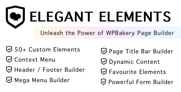 Elegant Elements for WPBakery Page Builder