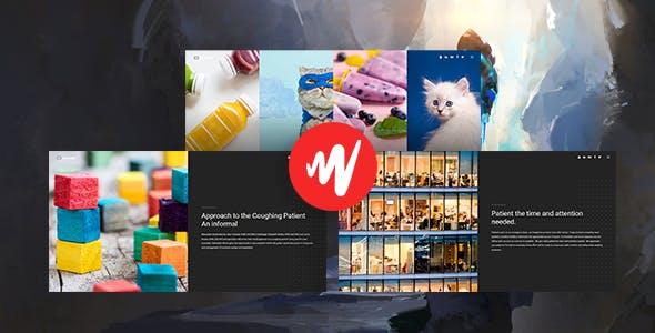 Lensesstudio – Script Portfolio Photographers System with Website