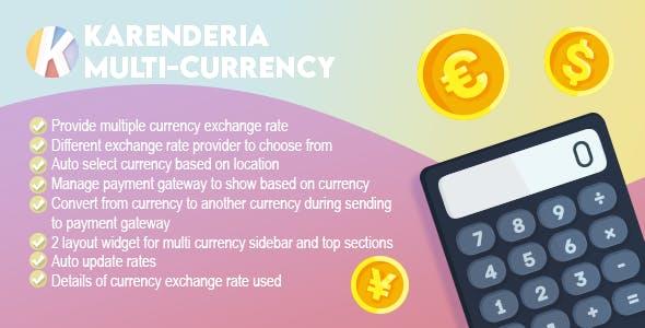 Karenderia Multi-Currency
