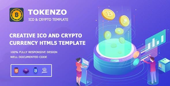 Tokenzo - ICO and Crypto Template