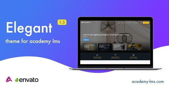 Elegant v1.5 – Academy LMS Theme
