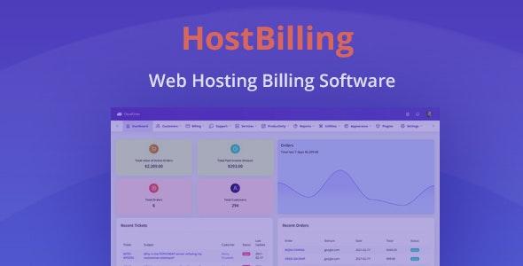 HostBilling - Web Hosting Billing & Automation Software