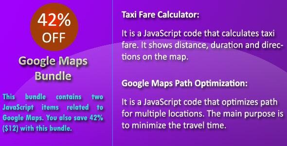 Google Maps Bundle - CodeCanyon Item for Sale